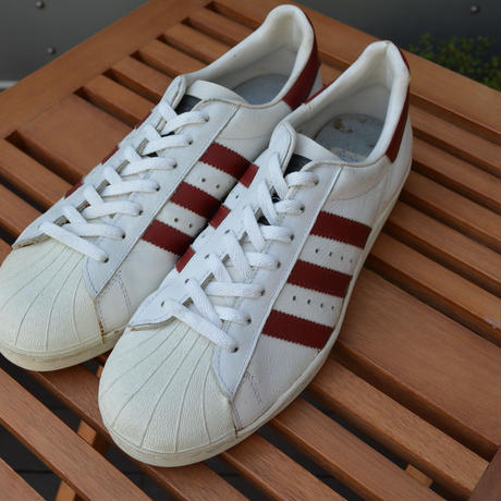 adidas superstar 金ベロ‐DEADSTOCK‐ made in France  size8H