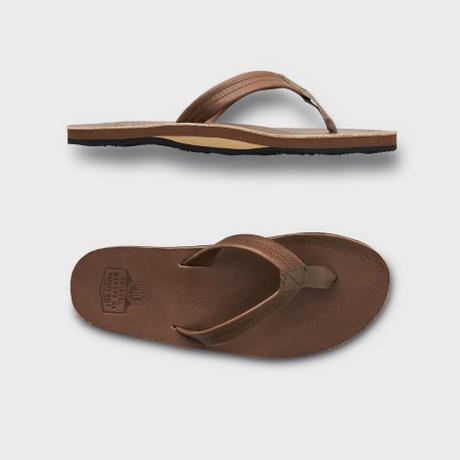 PHIGVEL‐MAKERS Co. -LEATHERSANDAL-(MOCHABROWN)
