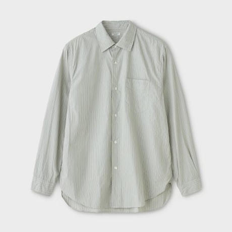 PHIGVEL‐MAKERS Co. PMAK‐LS01 REGULAR COLLAR DRESS SHIRT -STRIPE-