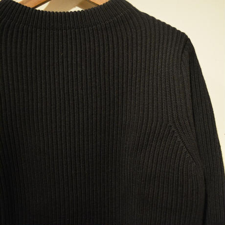 ANDERSEN-ANDERSEN   THE NAVY CREWNECK  ‐BLACK‐