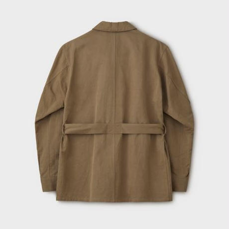 PHIGVEL‐MAKERS Co.C/L Tropical Jacket(SafariKhaki)