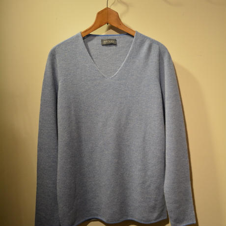 -seldom- V‐neck sweater ‐SAXBLUE‐