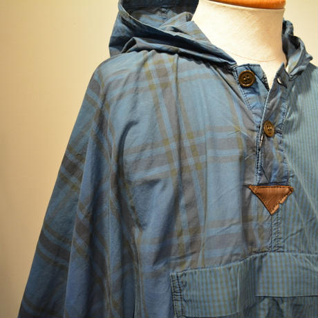 kenneth field PONCHO ‐indigo-