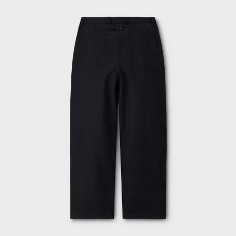 PHIGVEL MAKERS & Co.  PMAL-PT07 / UTILITY TROUSERS (Dust Black)