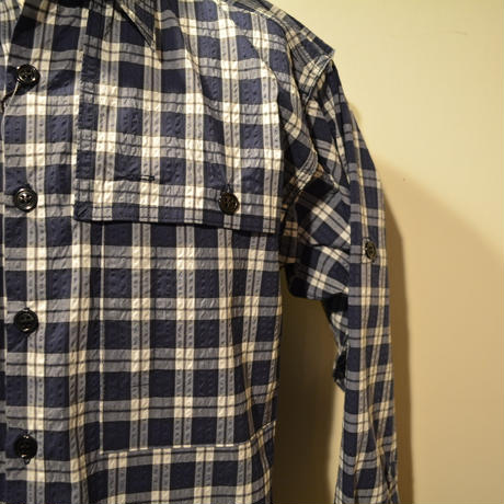 kenneth field 2019ss FIELD SHIRT ‐ COOLMAX PLAIDS‐