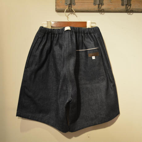 kenneth field 20ss ‐EZ SHORTS‐(14oz SELVAGE DENIM)