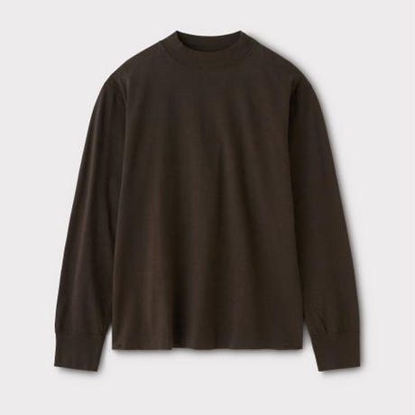 PHIGVEL‐MAKERS Co. PM‐VTGT05 HIGHNECK LS TEE (BROWN)