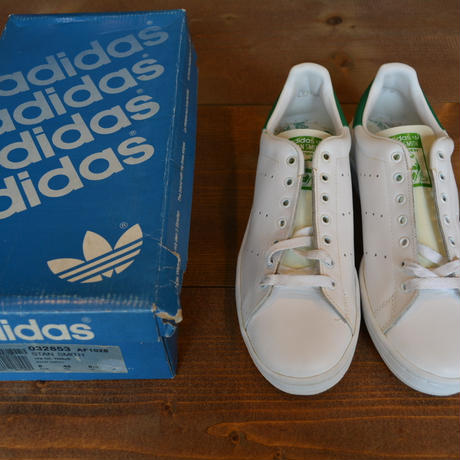 deadstock 80s adidas stan smith made in France (with box) size US8H