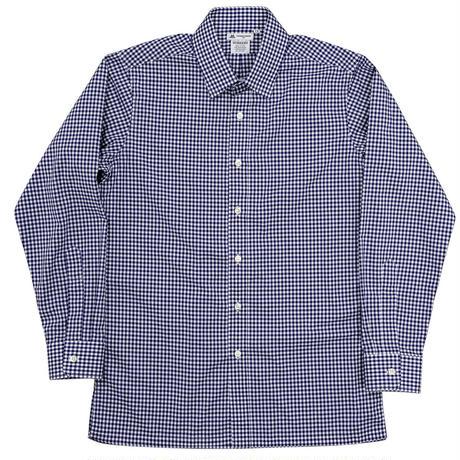 Workers Vendome Shirt, Plaid 60/1 Poplin Thomas Mason