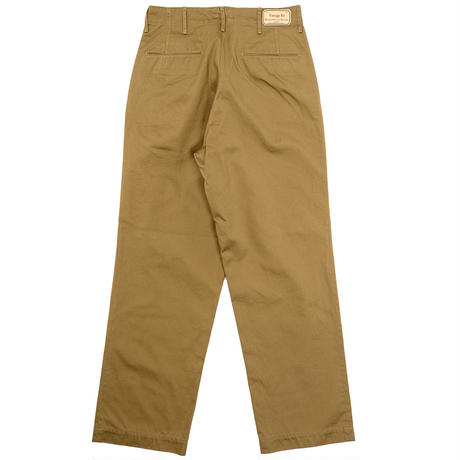 Workers 2020ss -Officer Trousers Vintage Type 1 USMC Khaki-