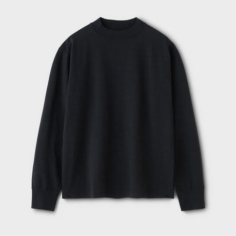 PHIGVEL‐MAKERS Co. PM‐VTGT05 HIGHNECK LS TEE (InkBlack)