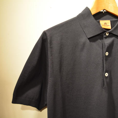 ANDERSEN-ANDERSEN POLO SHORT - DARK NAVY-