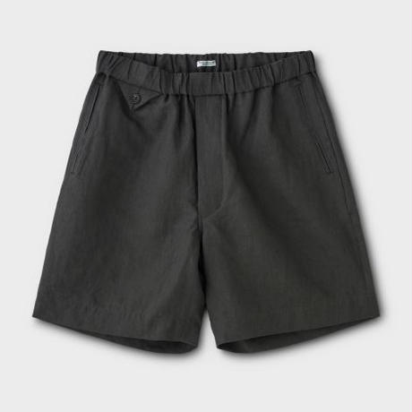 PHIGVEL‐MAKERS Co. Linen Easy Shorts (SEPIAGRAY)