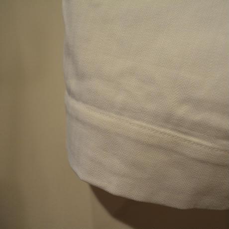 KENNETH FIELD CEREMONY Ⅱ SHORTS -LIPSTOP&HBT(WHITE)-