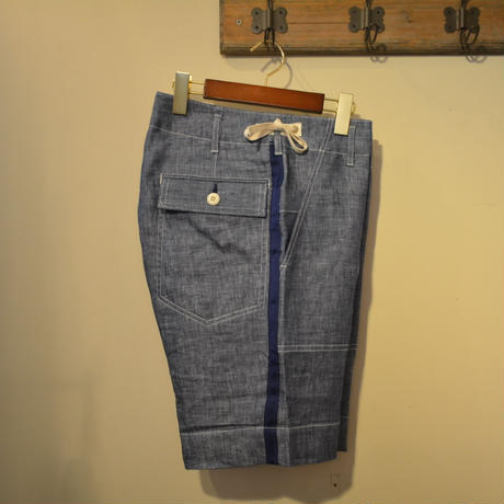 KENNETH FIELD CEREMONY Ⅱ SHORTS -BLUE-