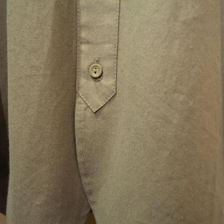 Frank Leder-bedlinenshirt- (OldStyle) OLIVE