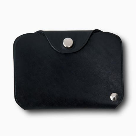 PHIGVEL‐MAKERS Co. pm‐㏄ card case -black-