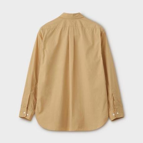 PHIGVEL MAKERS & Co.  PMAL-LS01 / REGULAR COLLAR DRESS SHIRT (VINTAGE YELLOW)