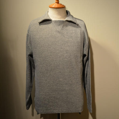 kenneth field L/S POLO (サーマルスキッパー) ‐GRAY‐