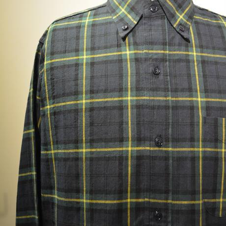 SASSAFRAS ‐green thunb shirt‐ tartan check (GREEN)