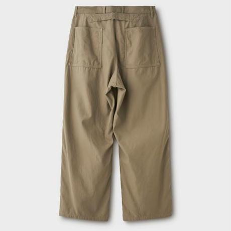 PHIGVEL‐MAKERS Co.Mil Trousers -khaki beige-