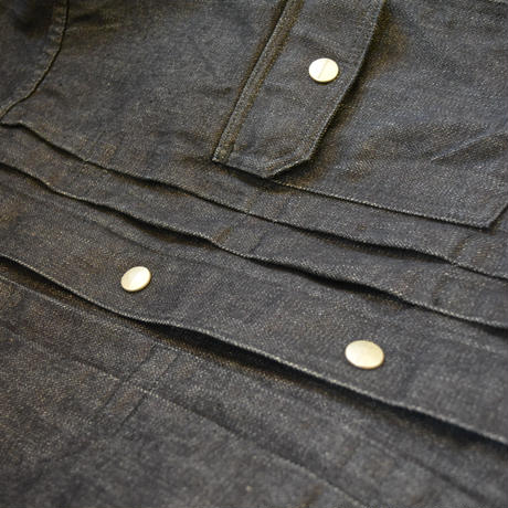SASSAFRAS -Gardener Jacket-(BrokenDenim)