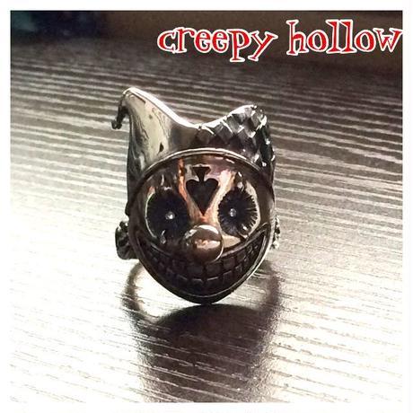 【SALE12000円】クリーピーホロウ(creepyholoow)嘲笑ピエロ/シバルーリング