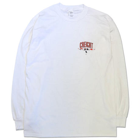 "CREIGHT×MHAK ""FRIENDSHIP COLLECTION"" L/S TEE /WHITE"