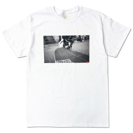 "CREIGHT""LIVE TO RIDE . RIDE TO LIVE"" TEE/WHITE"
