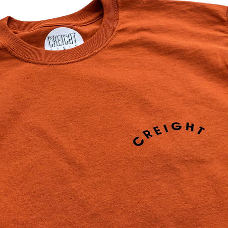 "CREIGHT ""KYON LTD L/S TEE"" / T.ORANGE"