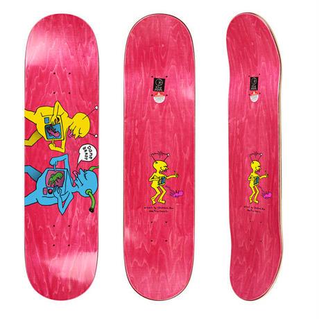 "dear, x Polar ""DANE BRADY TV KID - Colourway A - Art by Ron Chatma""/8.125inch/Pink Stain"