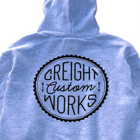 "CREIGHT CUSTOMWORKS""PullOver""/SILVER GRAY"