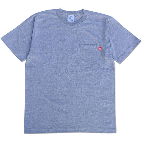 "CREIGHT ""ORIGINAL POCKET TEE"" / H.GREY"