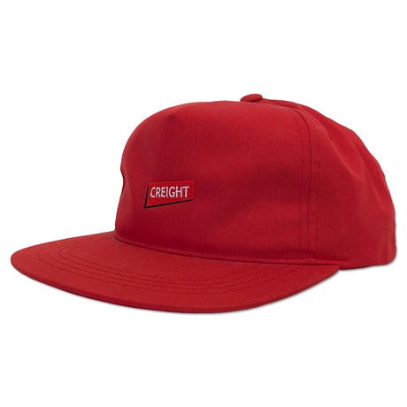 "CREIGHT ""UNSTRUCTURED CAP"" / RED"