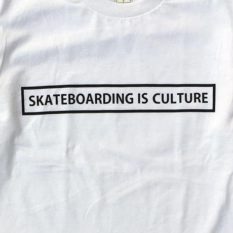 CREIGHT SKATEBOARDING IS CULTURE Tee / WHITE