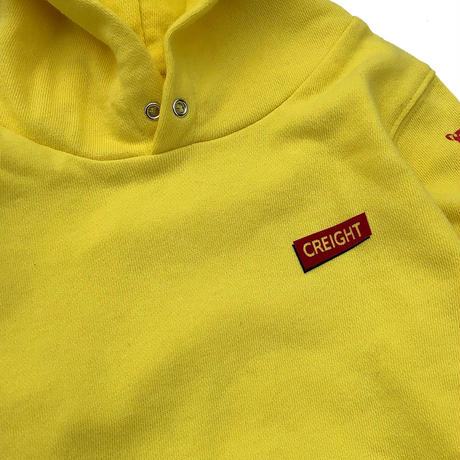 "CREIGHTキッズ""KYON 8.4oz PullOver""YELLOW"