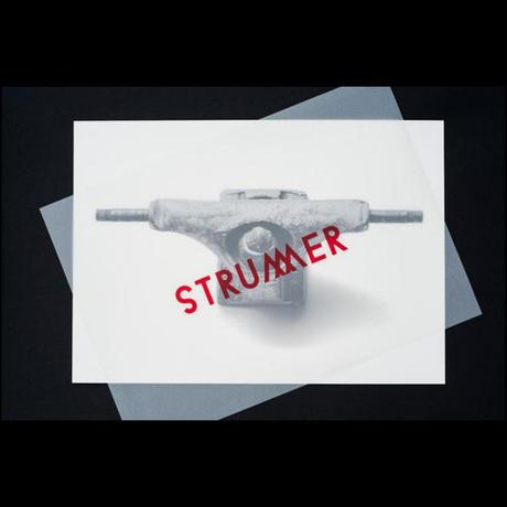 """STRUMMER Clothing """"GRIND AND DESTROY""""シルクスクリーンプリント/制作数50枚/NO.12"""