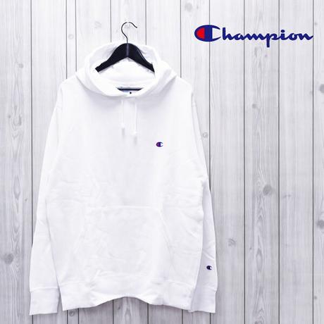 【Champion】Cロゴワンポイントロゴプルオーバーパーカー/C3-C118/WHT【チャンピオン】