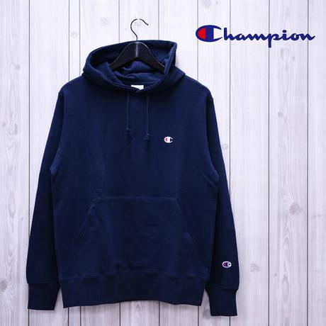 【Champion】Cロゴワンポイントロゴプルオーバーパーカー/C3-C118/NVY【チャンピオン】