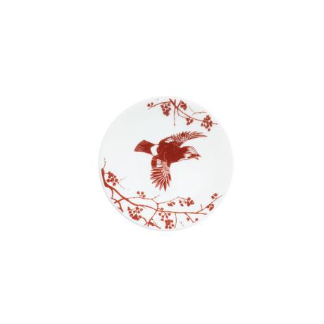 豆皿 カケスとクロウメモドキ