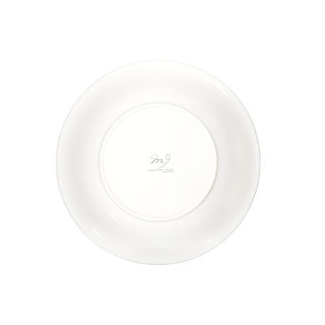 パスタ皿 ビクトリアトリバネアゲハとプルメリア