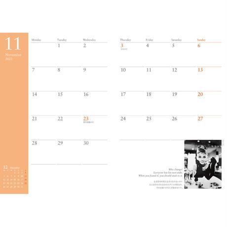 【AUDREY・ダイアリースケジュール帳】AUDREY Diary Schedule 2022