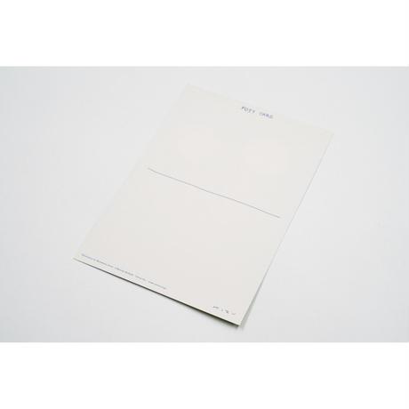 【安西水丸】ポストカード たんぽぽ