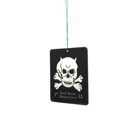 1%13 Car Freshener / Royal Hearse Driving licence Plate