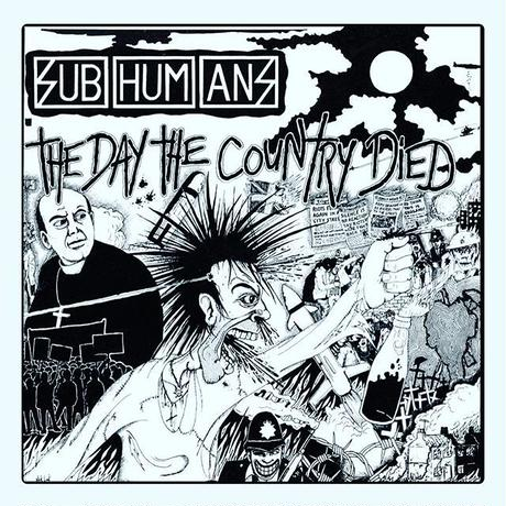 "Subhumans ""The Day The Country Died"" パズル"