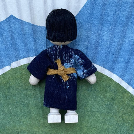 クレーブス人形 日本人の男の子