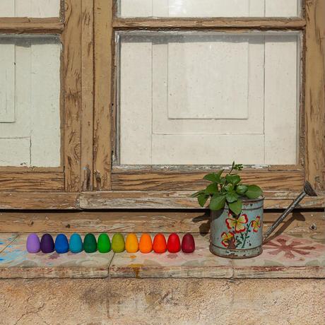 まんだら  レインボーエッグ (Mandala Rainbow Eggs) 21-223