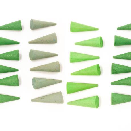 まんだら グリーンコーン (Mandala Green Cone) 18-200