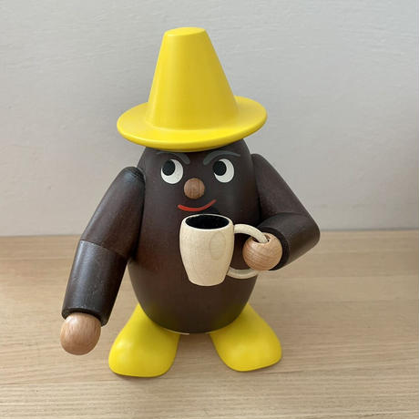 煙だし人形 コーヒー豆くん