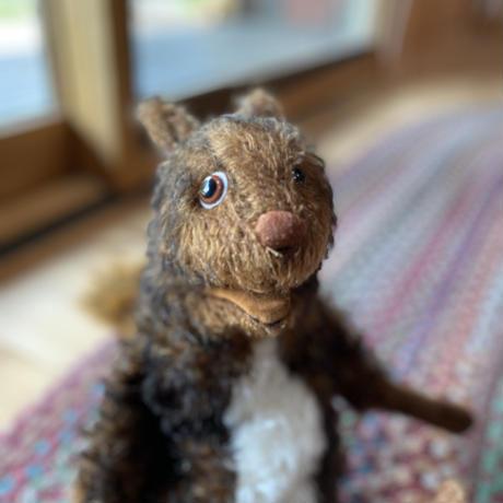 バーレーベンどうぶつ手人形 りすのフェリシタス